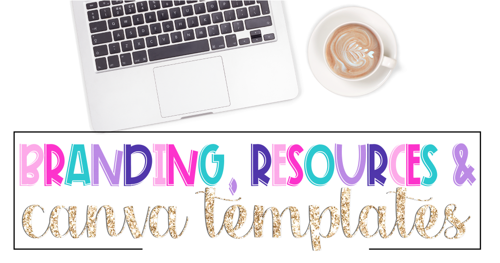 Branding, Resources, Canva Template