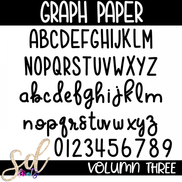 SD Fonts Graph Paper