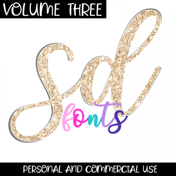 SD Fonts Volume Three Cover
