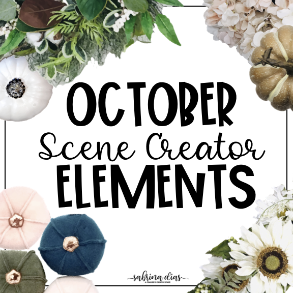 October Mockup Scene Creator
